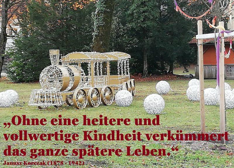 12. Dezember: Sich um das eigene innere Kind zu kümmern fördert den Frieden